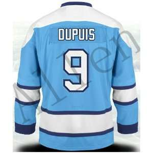 2012 New NHL Pittsburgh Penguins#9 Dupuis Black Ice Hockey Jerseys