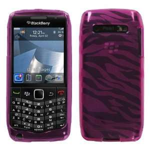 Hot Pink Zebra Skin Candy Skin Cover for RIM BlackBerry