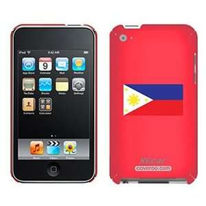 Philippines Flag on iPod Touch 4G XGear Shell Case