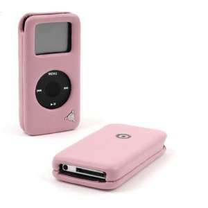 Deluxe Leather Case for iPod Nano ( Pink )  Players & Accessories
