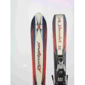 Used Rossignol Bandit X Jr Snow Skis with Binding 120cm B