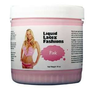 Ammonia Free Liquid Latex Body Paint   32oz Pink: Beauty