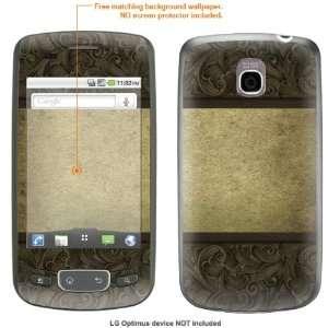 STICKER for T Mobile LG Optimus case cover Optimus 42 Electronics