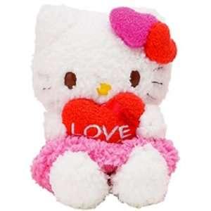 Kitty   Love Mascot Message 5 Heart Valentine Plush Toys & Games