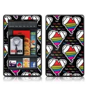 Loving Hearts Design Protective Decal Skin Sticker   Matte