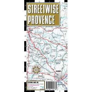 Streetwise Provence Map   Laminated Regional Road Map of