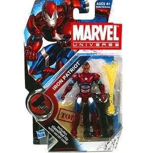 Marvel Universe 3 3/4 Iron Patriot Action Figure Norman