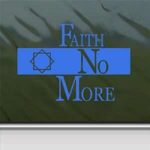 Faith No More Blue Decal Metal Rock Band Window Blue