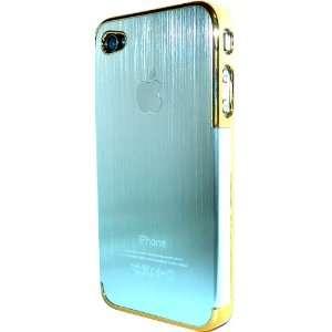 Brushed Aluminum (Metal Series) Apple Iphone 4 case fit