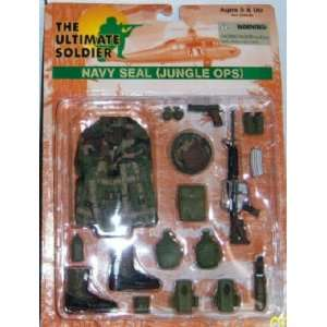 NAVY SEAL JUNGLE OPS UNIFORM & WEAPON SET, ultimate Toys