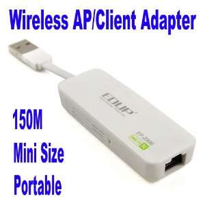 Wifi AP Client Network Router Transmitter Adapter Office Products