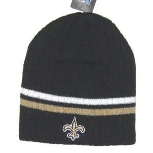 New Orleans Saints NFL Reebok Team Apparel Double Stripe