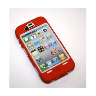 Red/White Iphone 4 CaseComparable to the otterbox defender case