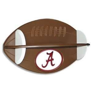 Alabama Crimson Tide Football Shelf