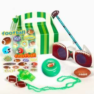 Football Fan Birthday Party Favor Box Party Accessory Toys & Games