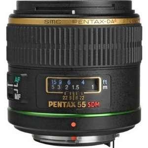 SMCP DA* 55mm f/1.4 SDM Auto Focus Lens: Camera & Photo