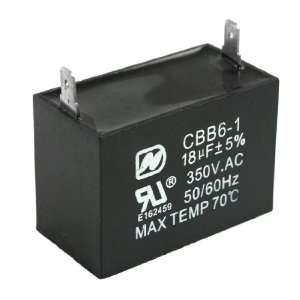 Amico Air Conditioner Motor Start Run Capacitor 18uF 5% AC