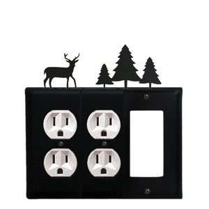 Monazite EOOG 203 Deer and Pine Trees   Outlet, Outlet