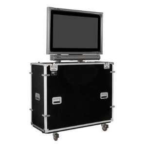 EZ LIFT TV Lift Case for 50 Flat Screen and Smart Overlay