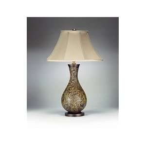 750 Paisley 30 Porcelain Hand Painted Table Lamp Home Improvement