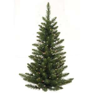 3 Pre Lit Camdon Fir Artificial Christmas Wall or Door Tree