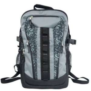 Black Print Sport Backpack Child School Pack  Sports