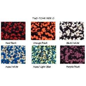 Empty Capsules Size 0 Two Tone Colors 1000 Gelatin