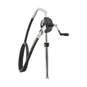 Rotary Pump, 3 vane,w/hose,16 To 55 Gal.   LINCOLN