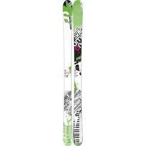 Salomon Twenty Twelve Skis White/Green: Sports & Outdoors