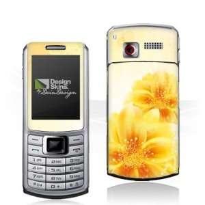 Design Skins for Samsung S3310   Yellow Flowers Design