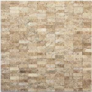 Degas (Emperador Light) Uniform Brick Brown Brick Series Honed Stone