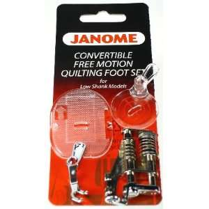 Janome Sewing Machine Convertible Free Motion Quilting Set