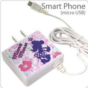 AC Adapter for Smartphones (Minnie Mouse)  Players & Accessories