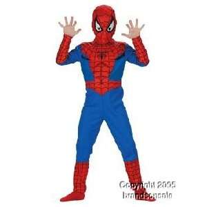 Childs Spiderman Costume (Size:Large 7 10): Toys & Games