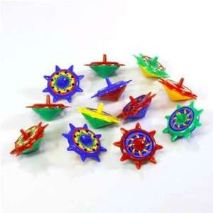 Star Spin Tops   12 per unit Toys & Games