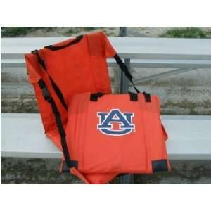 Auburn Tigers Orange Comfy Stadium Seat   NCAA College