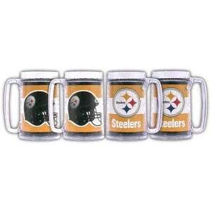 Pittsburgh Steelers 16oz Steins (set of four)  Sports