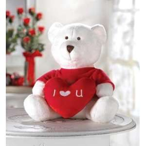 LOVE PLUSH TEDDY BEAR VALENTINES DAY COLLECTIBLE GIFT