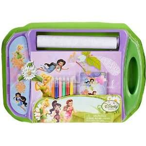 Disney Fairies Tinker Bell Art Desk Set GREEN Toys & Games