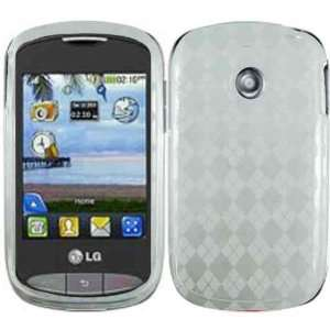Clear TPU Case Cover for LG 800G Cookie Style: Cell Phones