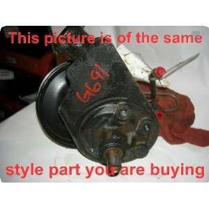 Power Steering Pump  AVALANCHE 1500 02 vacuum brake