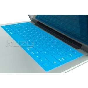 Kuzy   Solid AQUA BLUE Keyboard Silicone Cover Skin for