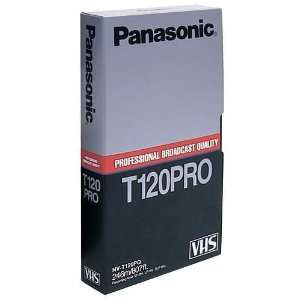 Panasonic VHS Professional Quality Cassette, NVT120PQ