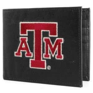 Texas A&M Aggies Black Bifold Wallet