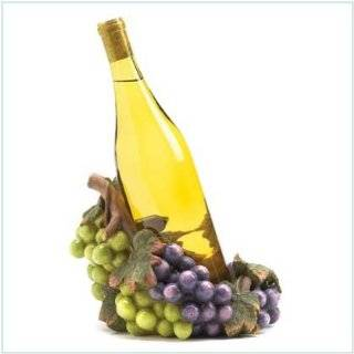 Wine Bottle Holder   Grape Basket  Kitchen & Dining