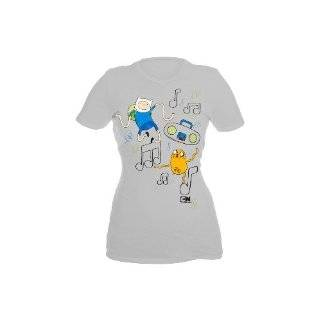 Adventure Time Finn And Jake On A Shirt Girls T Shirt Plus