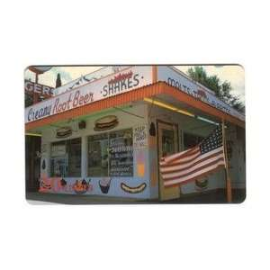 Collectible Phone Card 20u Hamburger Bar