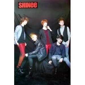 Shinee K Pop Korean Boy Band Dancer Wall Decoration Poster