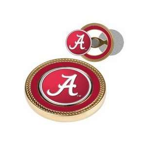 Alabama Crimson Tide Challenge Coin with Ball Markers (Set