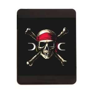 iPad 5 in 1 Case Matte Black Pirate Skull Crossbones